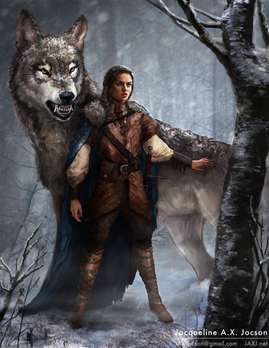 Arya stark and nymeria reunited.jpg