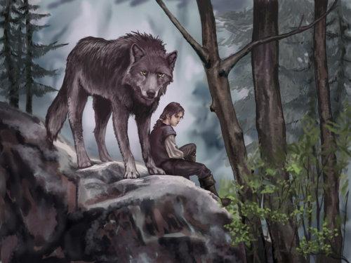 Arya stark and nymeria 2.jpg