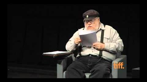 George RR Martin Reading A Song of Ice and Fire The Winds of Winter