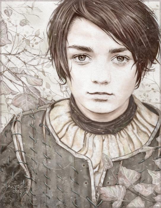 Arya stark by an7dash.jpeg