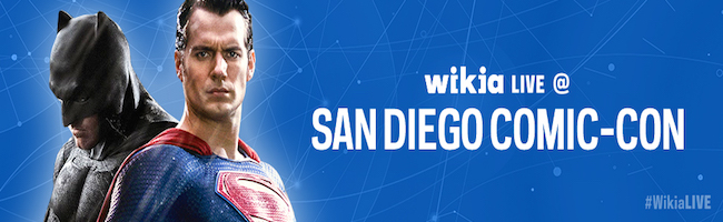 MrBlonde267/Wikia is looking for fans at SDCC