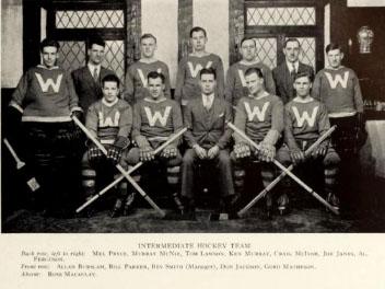 1934-35 OHA Intermediate A Group 4