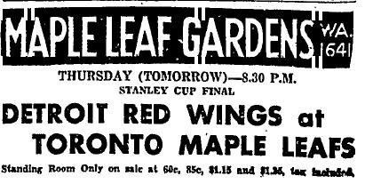 1936 Stanley Cup Finals