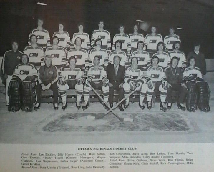 1972–73 Ottawa Nationals season
