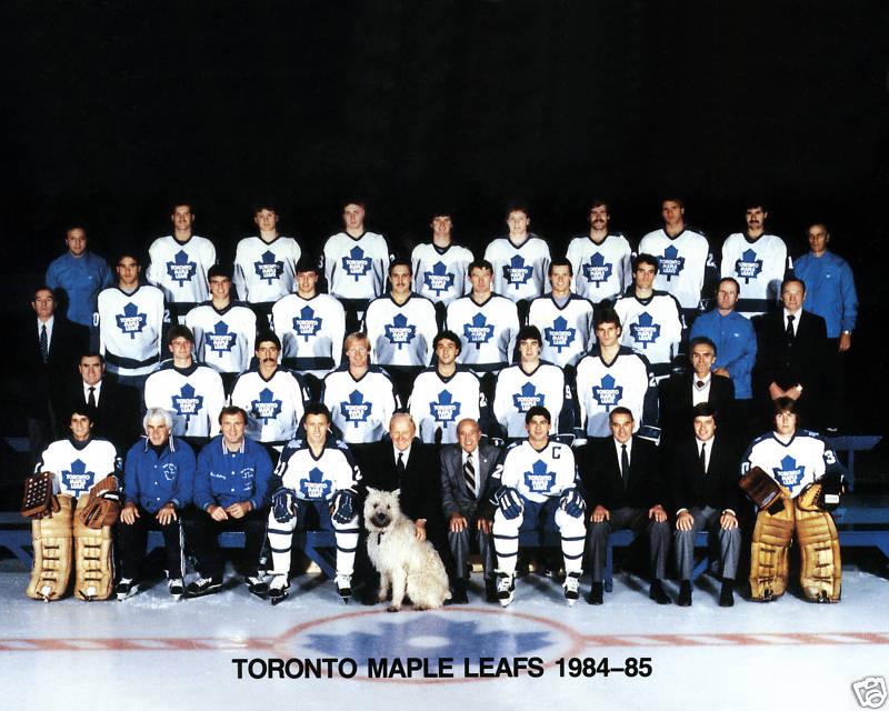 1984–85 Toronto Maple Leafs season