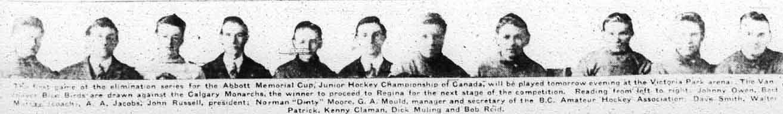 1919-20 British Columbia Junior Playoffs