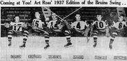 1937-Nov-Bruins 1st two lines