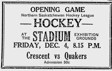 1931-32 Northern Saskatchewan League season