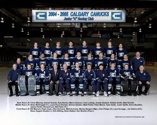 2004-05 AJHL Season