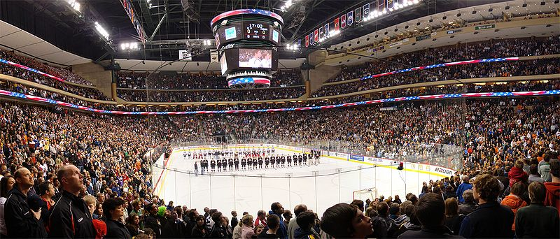 High school boys ice hockey in Minnesota