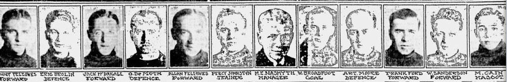 1921-22 VCSL Season