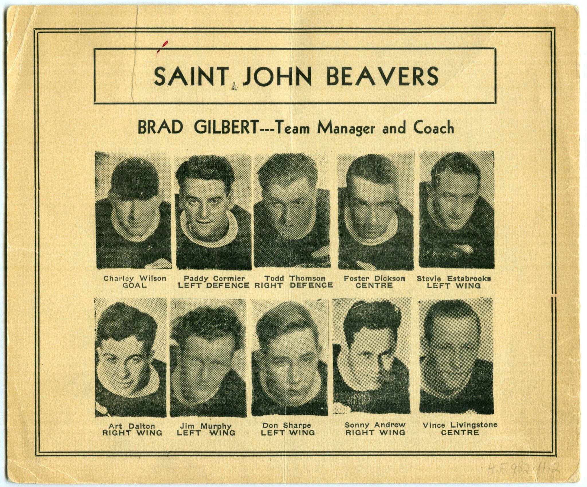 1932-33 SNBSHL season