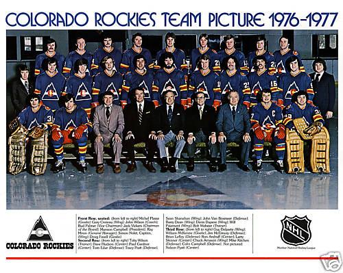 1976–77 Colorado Rockies season