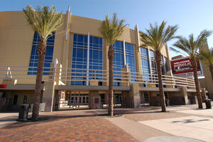 Glendale Arena's North Entrance (6/13/05)