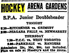1929 SPA Junior Tournament
