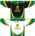 South Africa national ice hockey team Home & Away Jerseys.png