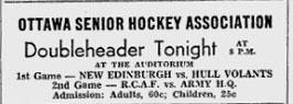 1947-48 Senior Hockey Association season