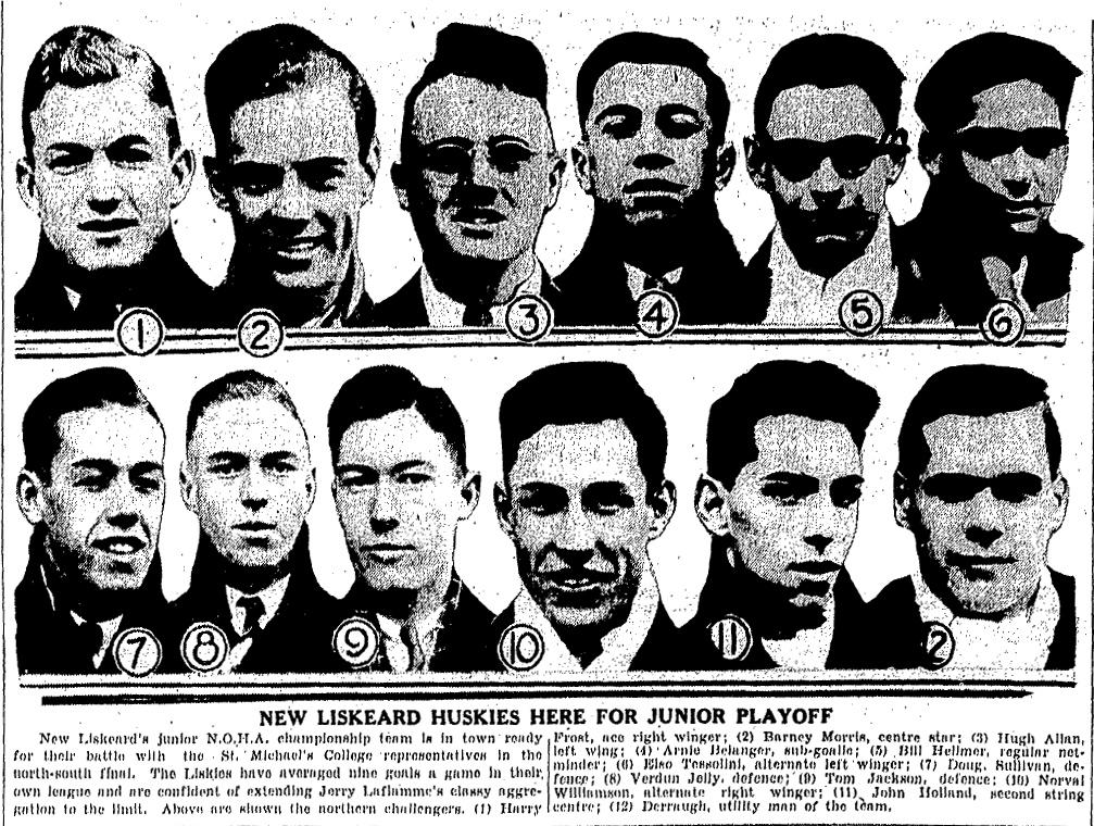 1933-34 Northern Ontario Junior Playoffs