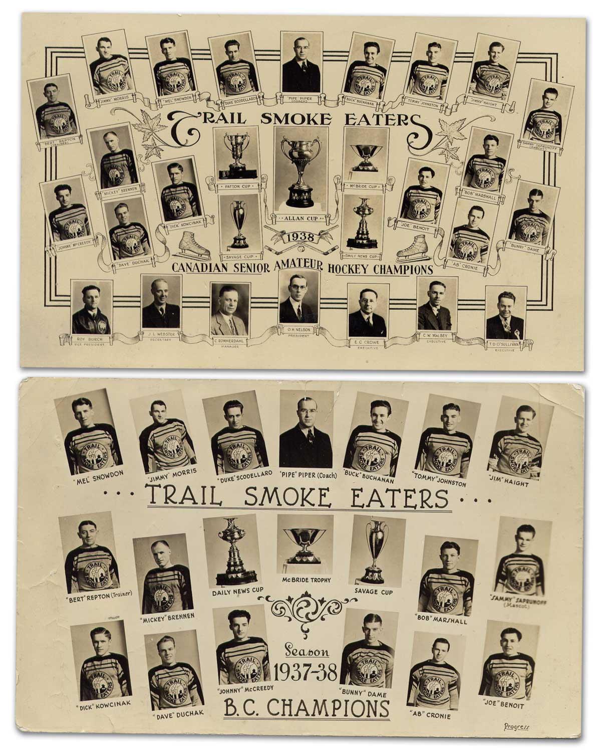 1937-38 British Columbia Senior Playoffs