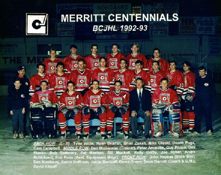 1992-93 BCHL Season