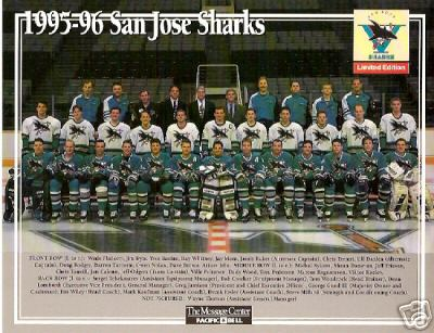 1995–96 San Jose Sharks season