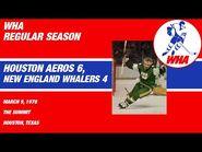 WHA- New England Whalers vs