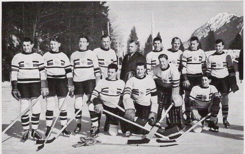 1936 Great Britain national ice hockey team