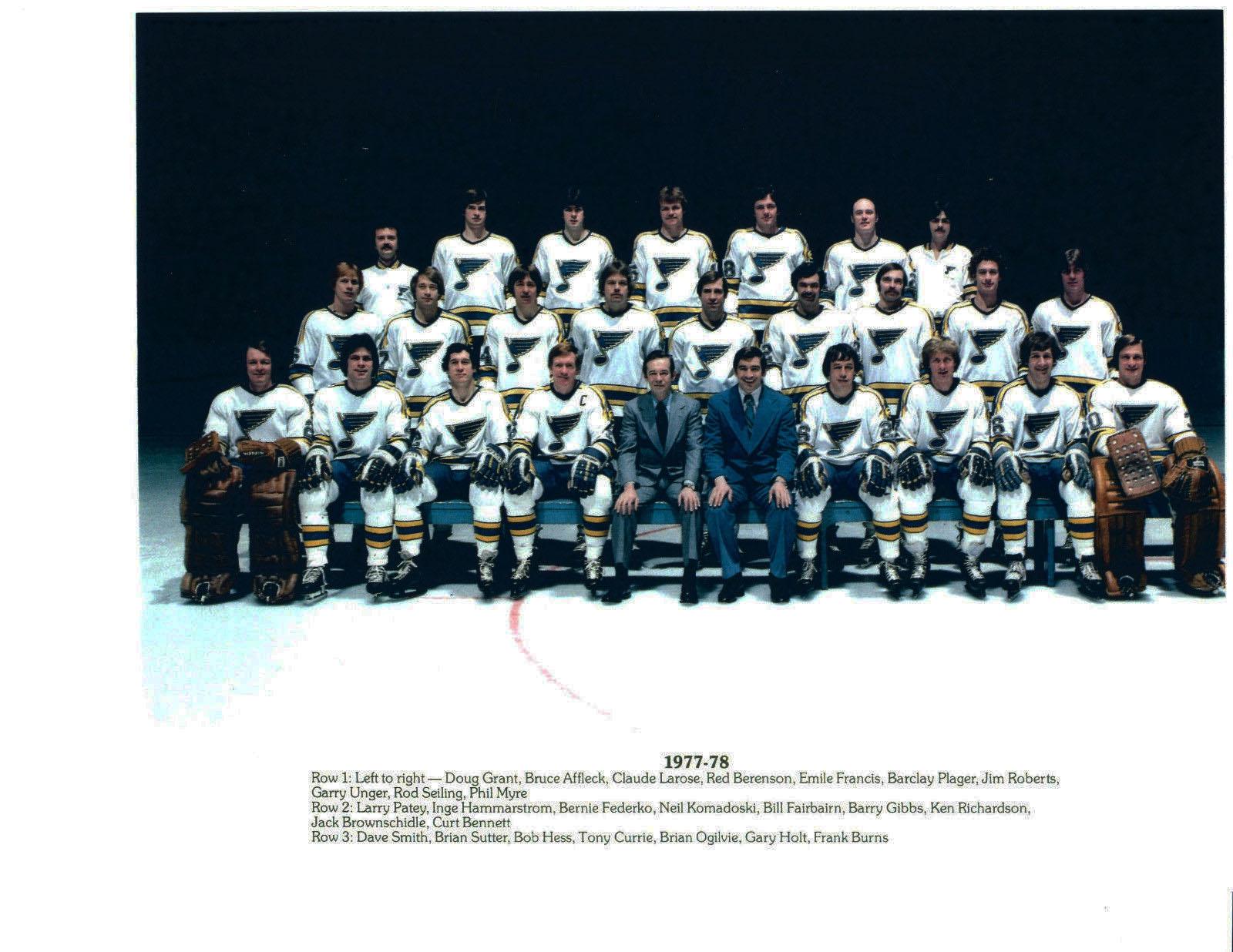 1977–78 St. Louis Blues season
