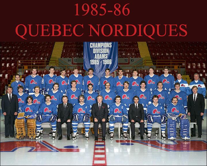 1985–86 Quebec Nordiques season