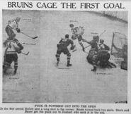 1939 Bruins first goal