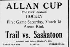 1929-30 Western Canada Allan Cup Playoffs