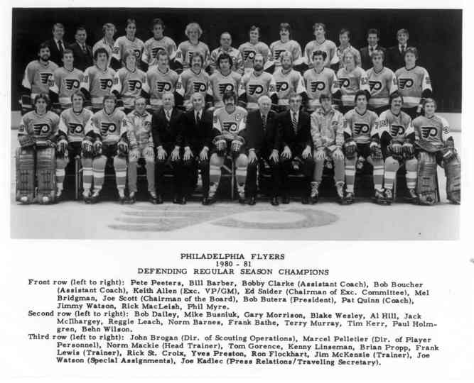 1980–81 Philadelphia Flyers season