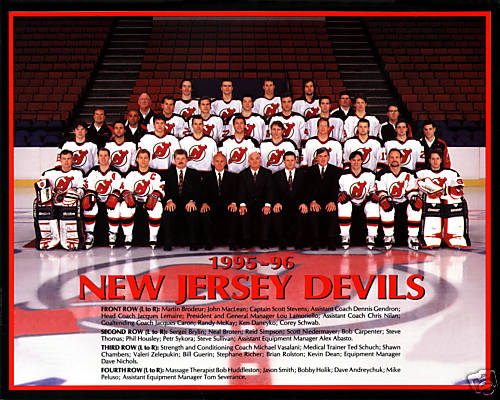 1995–96 New Jersey Devils season