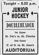 1951-52 Ottawa City Junior League