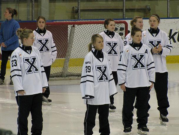 2009–10 St. Francis Xavier X-Women ice hockey season