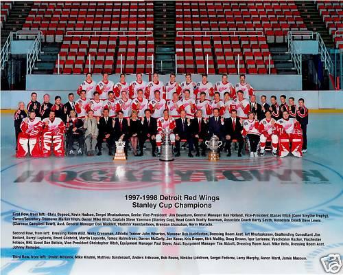 1997–98 Detroit Red Wings season