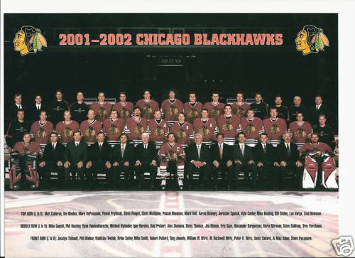 2001-02 Chicago Blackhawks season