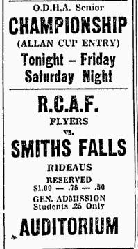 1950-51 Ottawa District Senior Playoffs