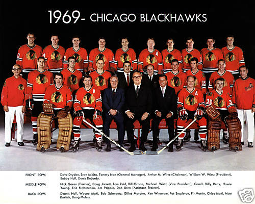 1968–69 Chicago Black Hawks season