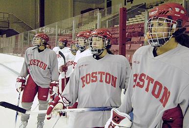 Boston University Terriers women's ice hockey