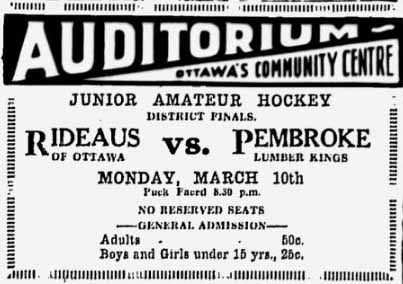 1929-30 Ottawa District Junior Playoffs