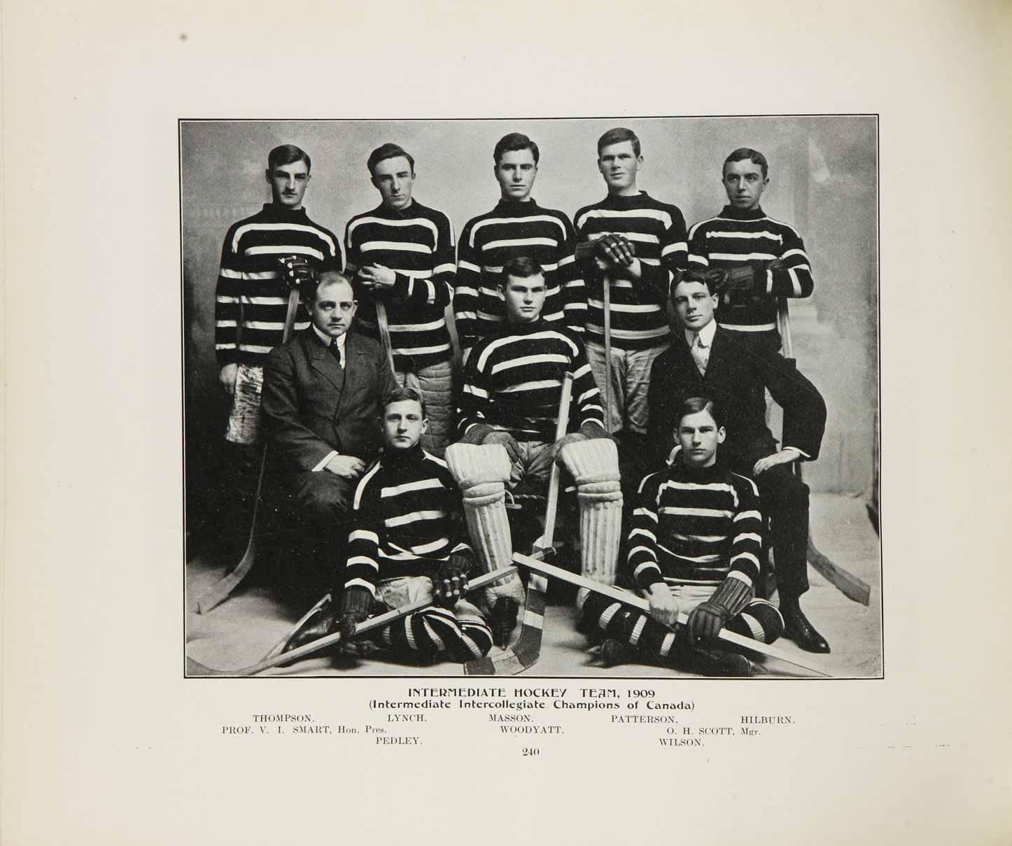 1908-09 Intermediate Intercollegiate