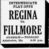 1931-32 Saskatchewan Intermediate Playoffs