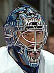 Curtis Joseph behind the mask