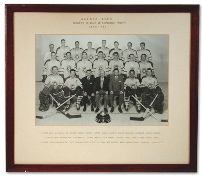 1956-57 QHL Season