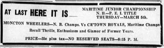 1941-42 Maritimes Junior Playoffs