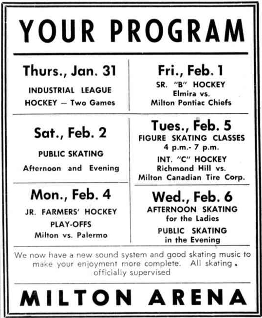 1956-57 OHA Senior B Season