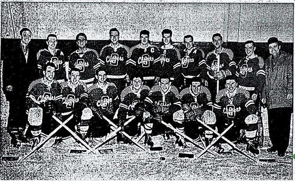 1957-58 OHA Intermediate B Groups