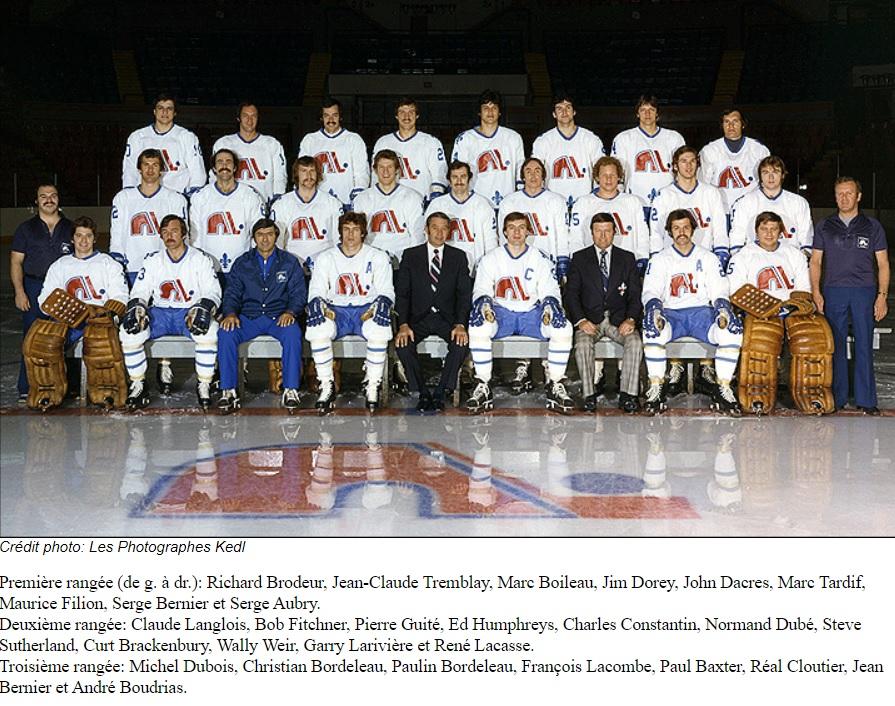 1976–77 Quebec Nordiques season