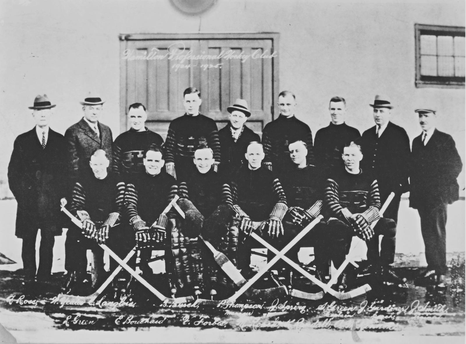1924–25 Hamilton Tigers season